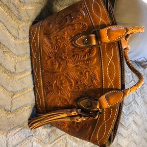 Patricia Nash leather work bag
